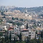 Jerusalem Israel Panorama Armon Hanatziv