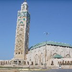Casablanca Morocco The Hasan II Mosque in Casablanca