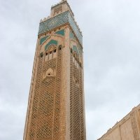 Casablanca Morocco The world's tallest minaret in Casablanca