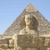 Cairo Egypt The Sphinx of Giza near Cairo