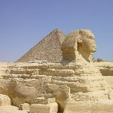 Cairo Egypt The Pyramid of Khafre and the Great Sphinx