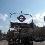 Westminster Metro Station in London
