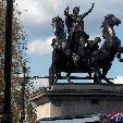 Statue of Queen Boadicea in London