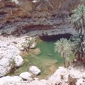 Muscat Oman Amazing Gorge at Wadi Tiwi, Oman