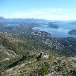 Great panorama from San Carlos de Bariloche