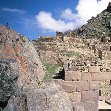 The stairs up the Ollantaytambo Ruins