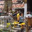 Temple Offerings in Bangkok, Bangkok Thailand