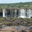 Photo from the upper falls in Iguazu