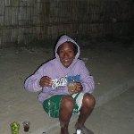 Santa Elena Ecuador Street Bartender in Montanita