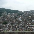 The houses of a Brazilian favela