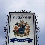 Hamilton City street sign, Hamilton Bermuda