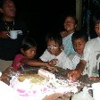 Celebrating a birthday in Ecuador
