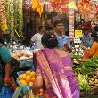 Indians on the fruit market in Singapore