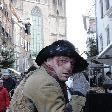 Actor during Charles Dickens festival