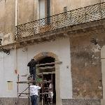 Historic Lecce under Construction