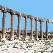 Roman colums in Jerash, Jordan, Jerash Jordan