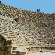 The Roman amphitheatre in Jerash