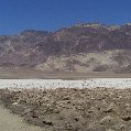 Salt lakes of Death Valley