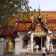 The Wat Doi Suthep in Chiang Mai