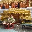 The reclining Buddha of Wat Doi Suthep