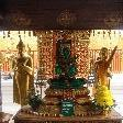 Shrines at Wat Phrathat Doi Suthep