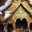Decorated Temple at Doi Suthep