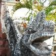 The dragon heads at Wat Luang