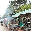Food stalls in Luang Prabang, Laos
