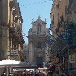The early morning markets in Catania