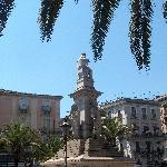 Catania Italy Stesichorus Square in Catania