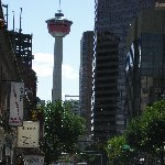 The city tower in Calgary