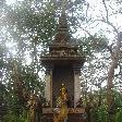 Bangkok Thailand Forest altar close to Wat Saket