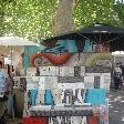 Paintings at the Paddington Market