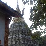 The Chedi of Wat Lam Chang