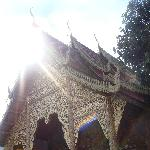 The Elephant temple of Wat Lam Chang