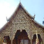 Chiang Mai Thailand The temple of Wat Lam Chang