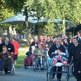 Pictures of volunteers in Lourdes, Lourdes France