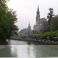 Pictures of Lourdes, France