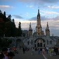 Notre Dame Sanctuary in Lourdes, Lourdes France
