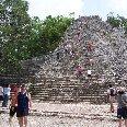 Climbing the Maya pyramids