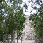Yucatan Mexico The forest walks around Yucatan