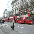 The red London busses