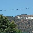 Hollywood letters in the hills