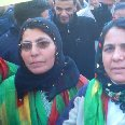 Kurdish women at Newroz