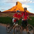 Cycling through Monument Valley
