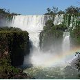 Iguazu River Brazil Rainbow at the Iguazu Waterfalls