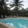 Our pool at our hotel in Kenya, Malindi Kenya