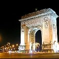 Bucharest Romania Arc de Triomphe in Bucharest