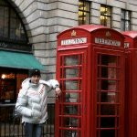 London United Kingdom Traditional English phone booth