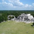 Photos of the mayan temple ruins